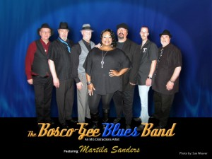 Bosco Gee Blues Band featuring Martila Sanders
