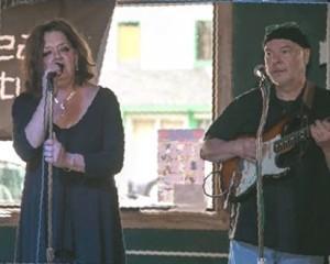 Kathy Engen and Steve Frarey