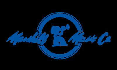 Marshall Music Classic Logo-Blue 2017